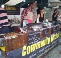 Community Kitchen at Real Food Market, Southbank, London