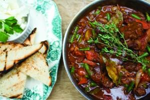 Lamb & green bean casserole