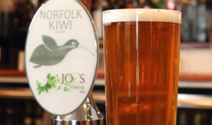 Norfolk Kiwi ale at The Kings Head