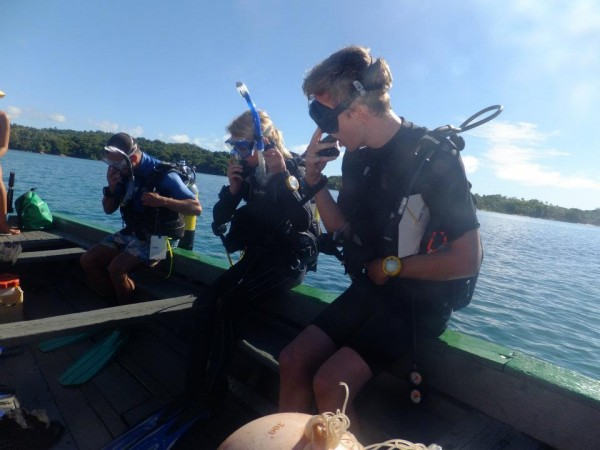 Scuba-diving on a Frontier project