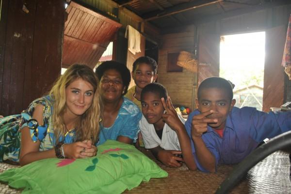 Host family Fiji