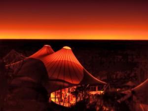 Longitude 131, Australia, at night