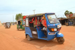 Tuk-tuks in the Lanka Challenge