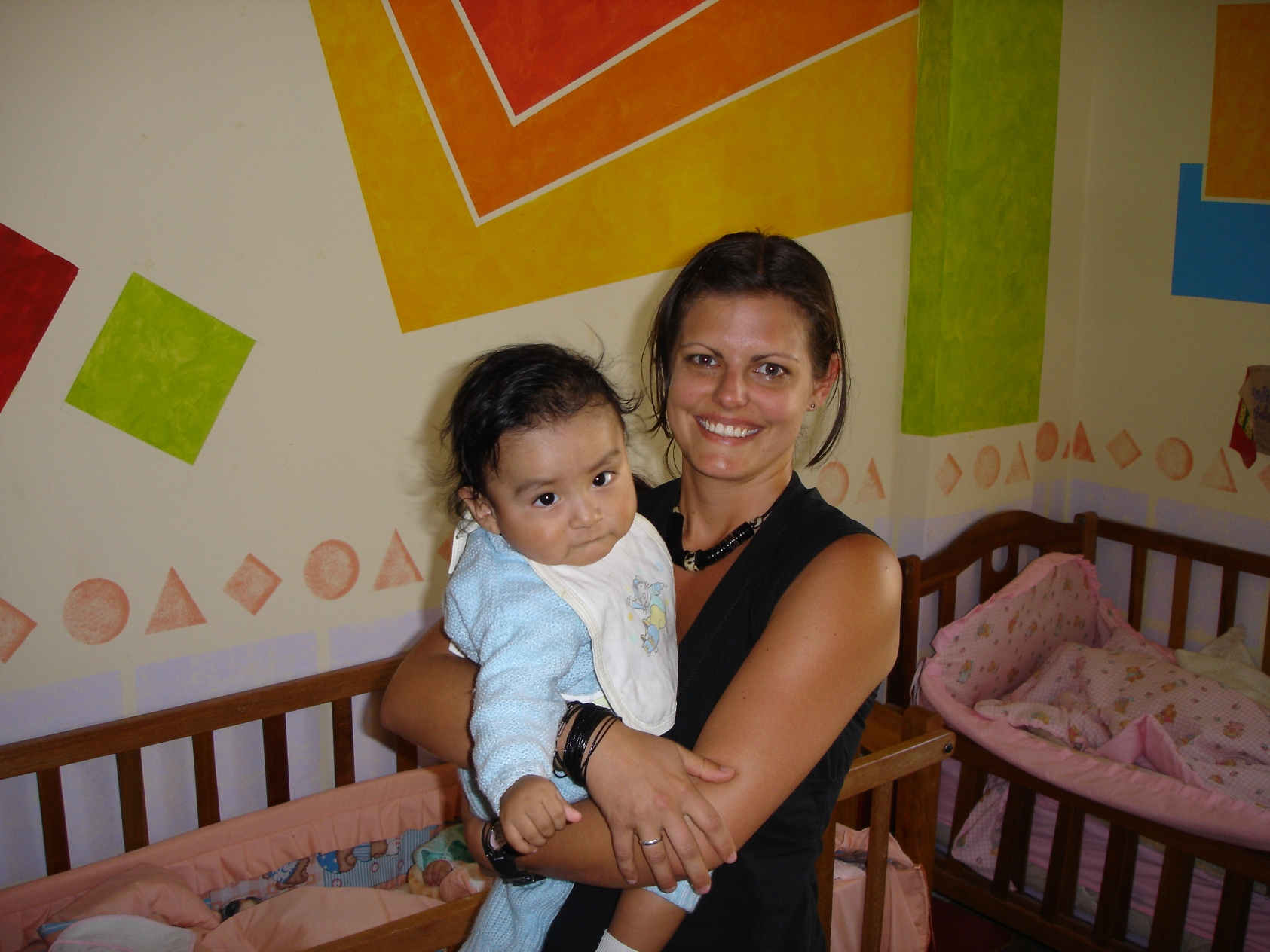 Volunteering in a Peruvian orphanage