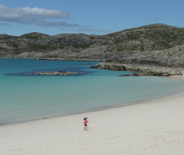 Achmelvich, Highland (c) Russel Wills, Creative Commons