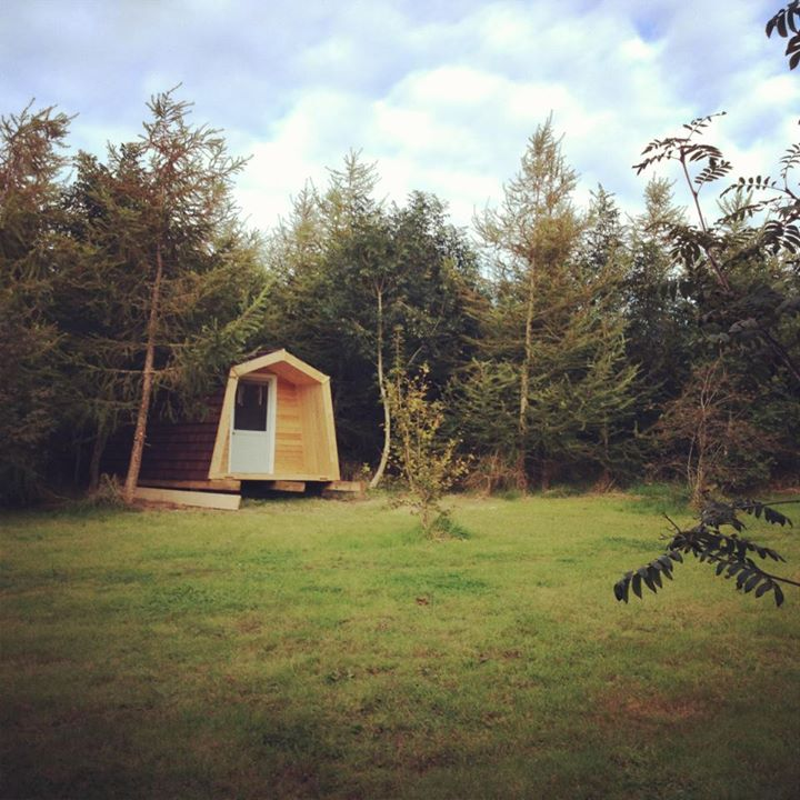 Eco glamping in South Wales at Cwtch Camp