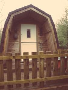 Cwtch Camping pod