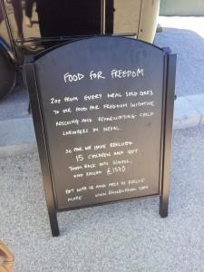 Food for Freedom_Rainbo, Kerb