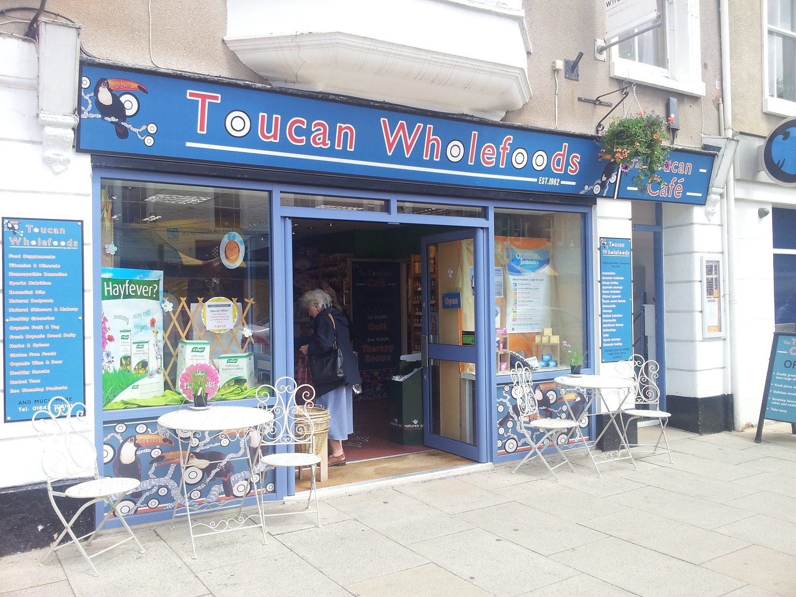 Brunch at The Toucan Cafe, Minehead, Somerset