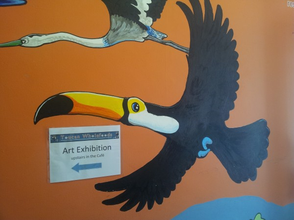 Toucan mural, The Toucan Cafe