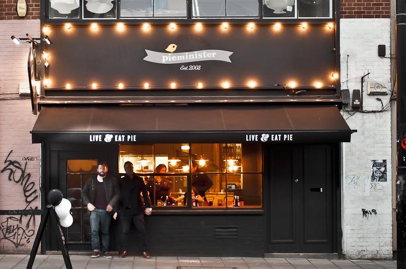 Pieminister's new Stokes Croft diner, Bristol