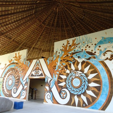 eco retreat Hotel Xixim, Mexico