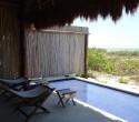 private terrace, Hotel Xixim