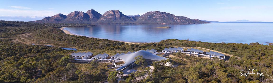 Tasmania's Saffire Freycinet resort – dedicated to ecotourism