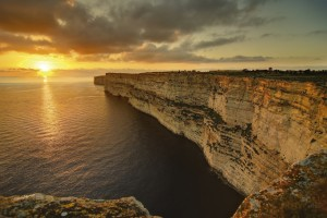 Cliffs, Gozo, Malta