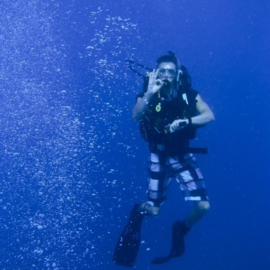 diving in Fiji, Frontier