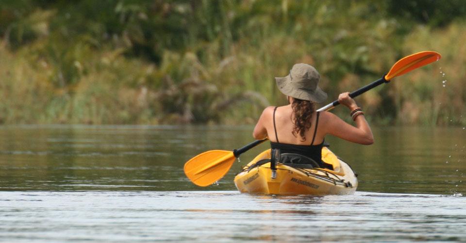 A kayaking adventure across the Okavango Delta