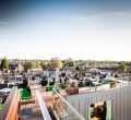 The Varsity Hotel rooftop garden
