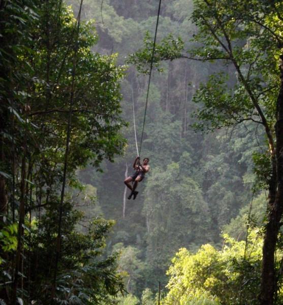 The Gibbon Experience Treehouse, Bokeo Reserve, Laos