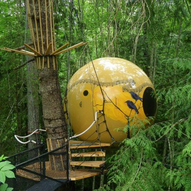 Free Spirit Spheres, British Columbia, Canada