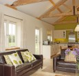 Cranmer Avocet seating and kitchen