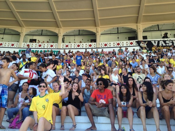 sports fans in Brazil