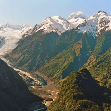 Franz Joseph glacier, New Zealand (c) Mark Hickey_Natural Habitat Adventures