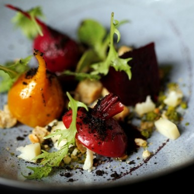 Beetroot dish at Texture