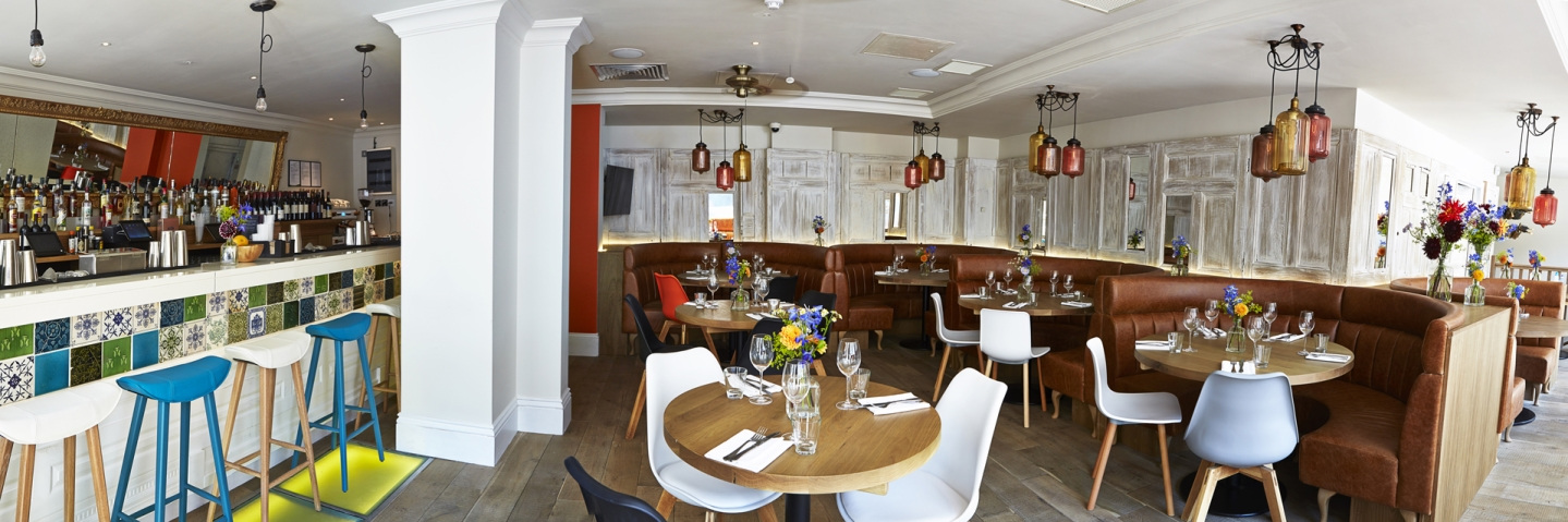 Putting the green into gourmet at T.E.D Restaurant, London
