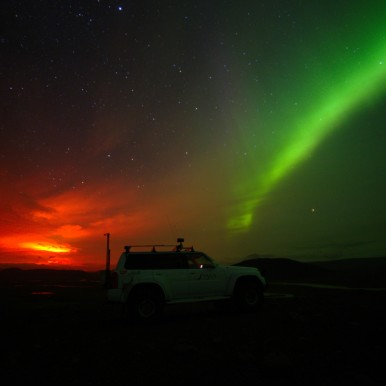 Northern Lights (photo by Hörður Finnbogason)