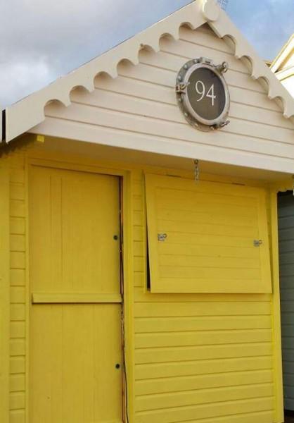 Boutique beach hut, Grand Pavilion