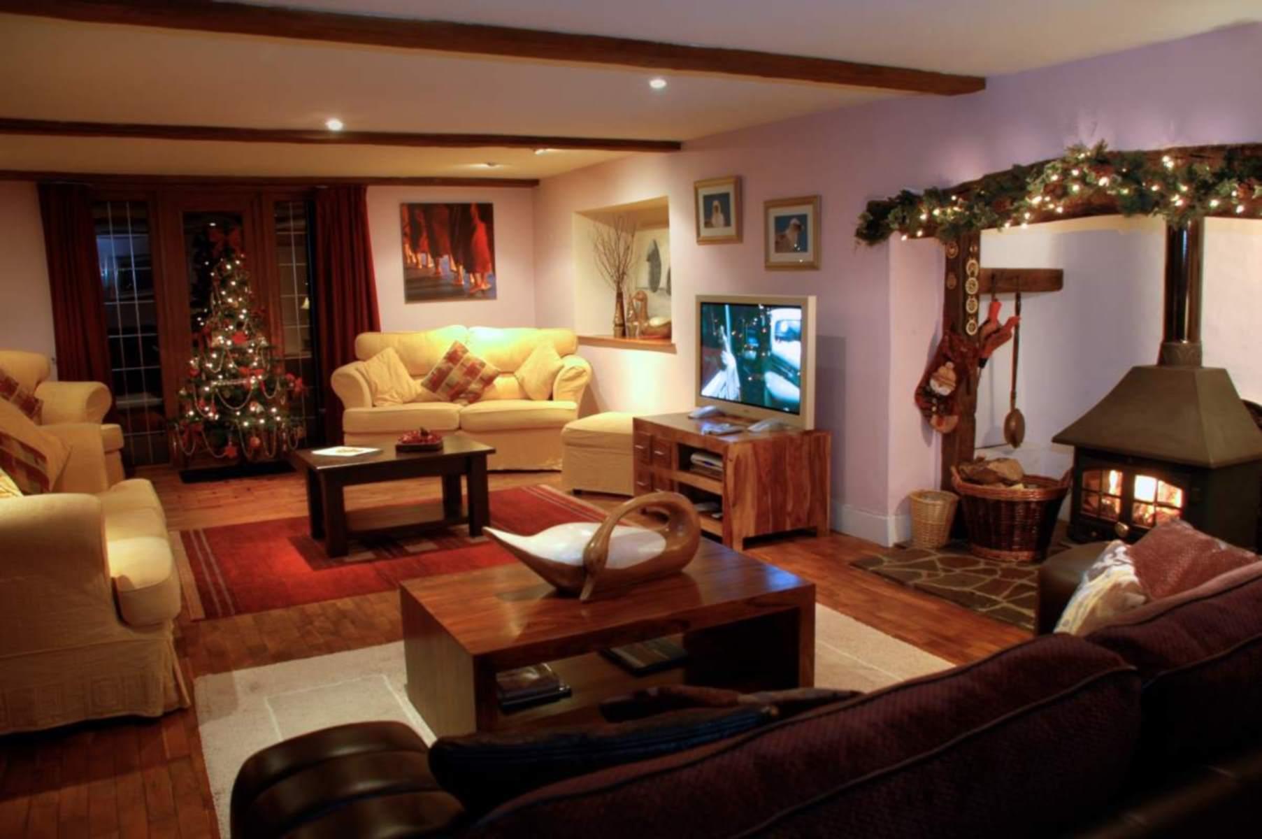 Christmas down on The Farm House, Devon