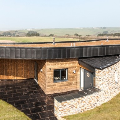 eco-friendly design at The Point at Polzeath