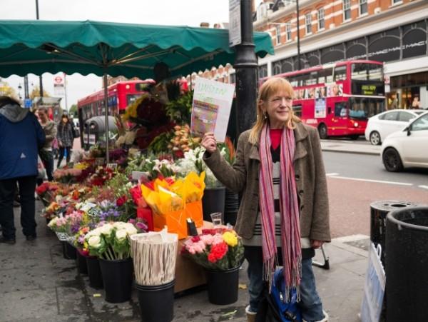 Hazel leads Unseen Tours in Brixton
