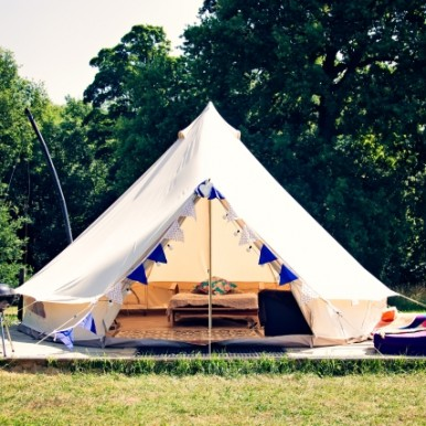 glamping at Camp Katur, Yorkshire