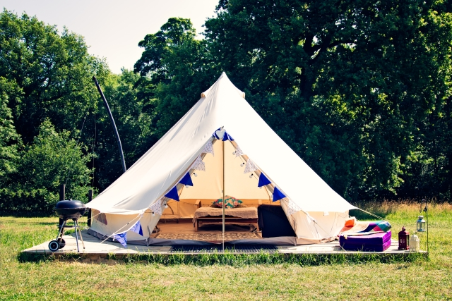 Be a happy camper at Camp Katur, Yorkshire