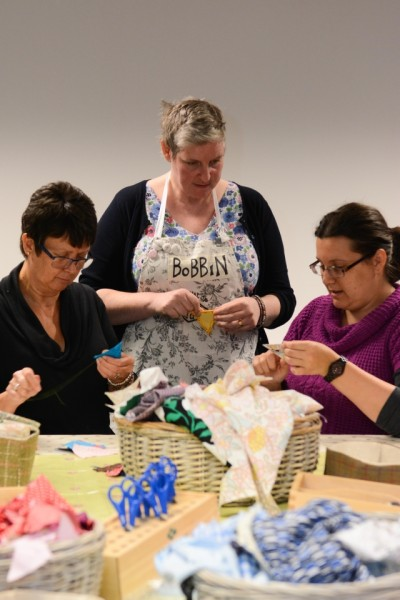 Bobbin workshop by Tracy Kidd
