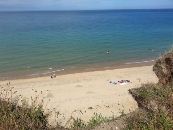 West Runton beach, Norfolk