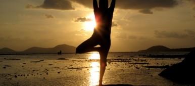 yoga teacher Claire Farman at The White Goddess Retreat