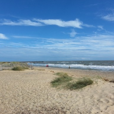 Walberswick beach nearby