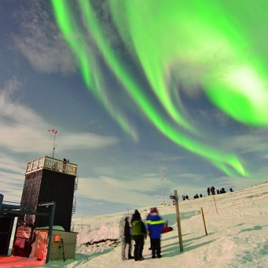Aurora Sky Station (Chad Blakley, Lights Over Lapland)