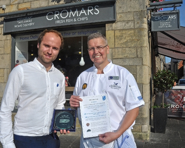 Cromars in St Andrews is 50th chippy to become MSC certified