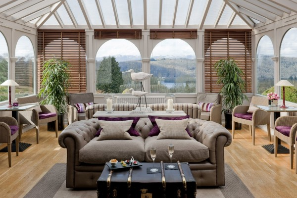 conservatory at Linthwaite