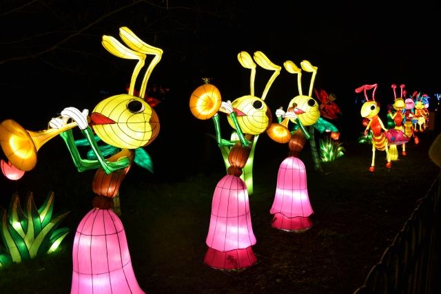 Celebrate Chinese Year of the Monkey at the Magical Lantern Festival