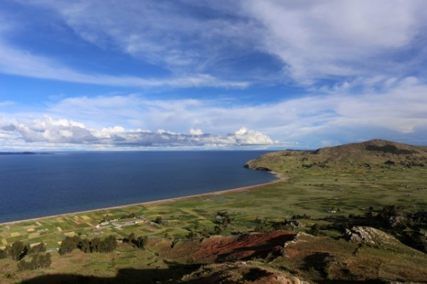 View of the Lake Titicaca, Peru - Pic by Harry Dowdney
