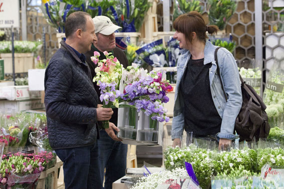 Covent Garden Flower Market (Image courtesy the Chelsea Fringe)