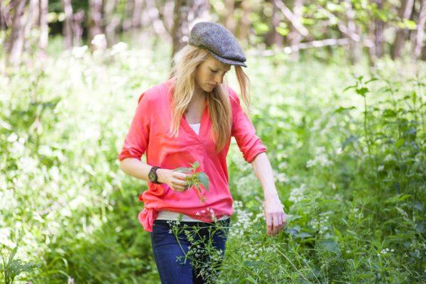 Primrose Matheson goes foraging