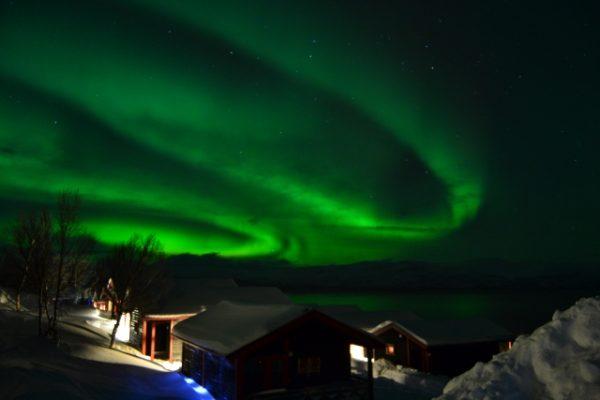 Northern Lights at Bjorkliden