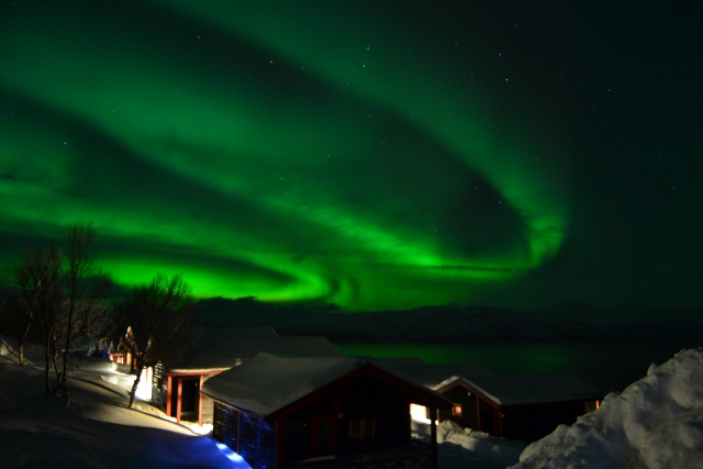 Northern Lights at Bjorkliden