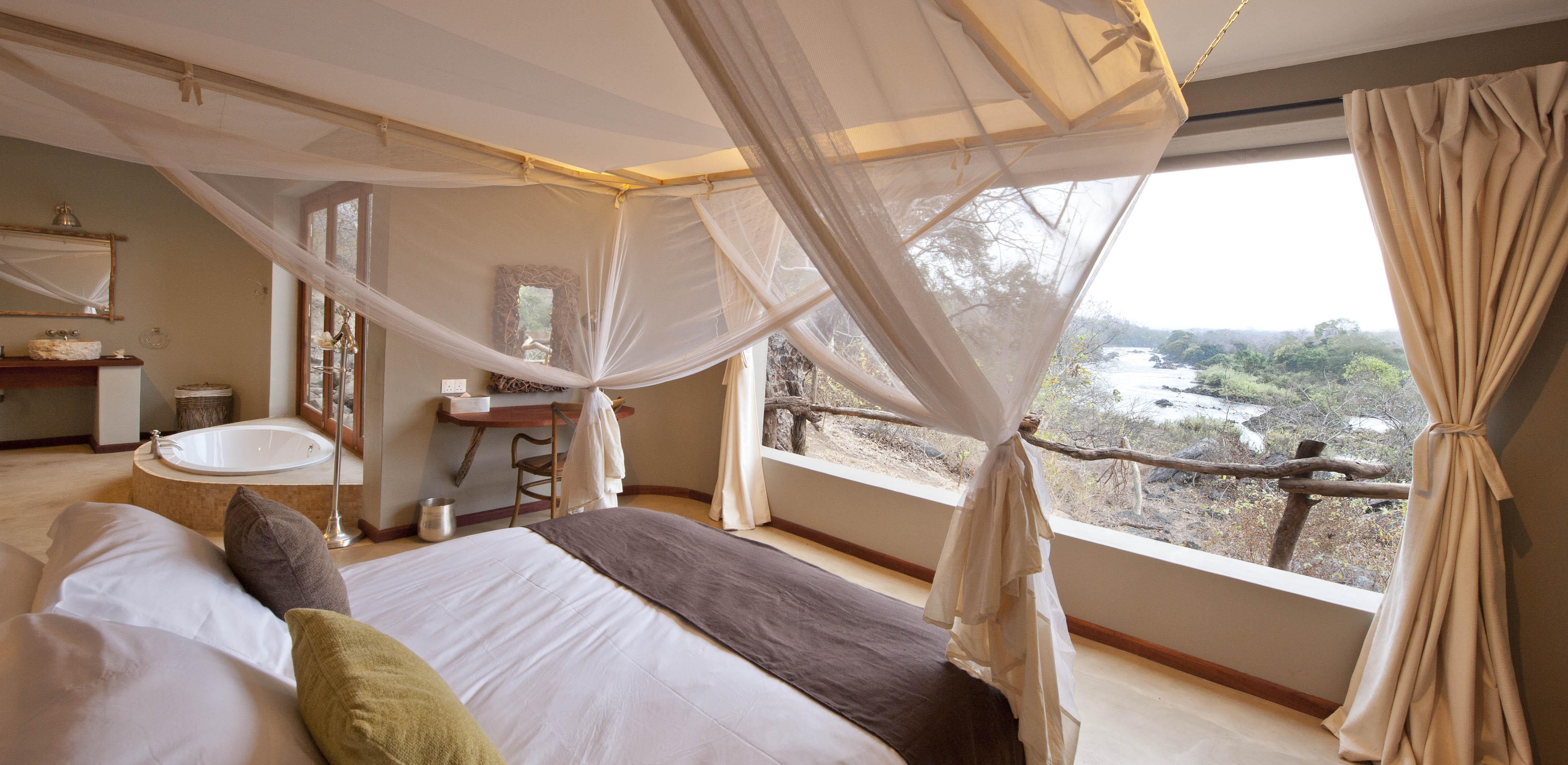 Mkulumadzi lodge, Majete, Malawi